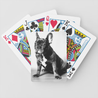 French Bulldogge Bicycle Poker Cards