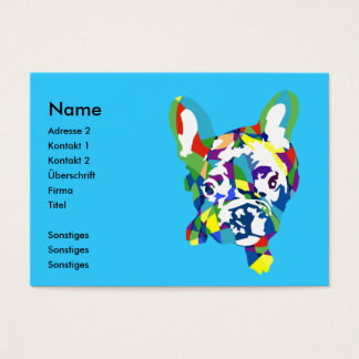 French Bulldogge puppy Business Card