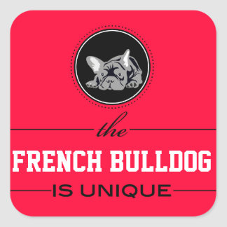 French Bulldogge sticker