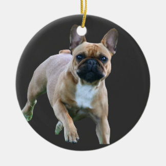 French Bulldogge supporter Christmas Ornament