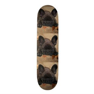 French Bulldoggen skateboard