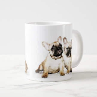 French Bulldogs 20 Oz Large Ceramic Coffee Mug