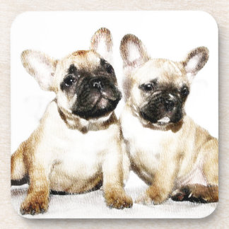 French Bulldogs Coaster