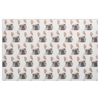 French Bulldogs Custom Fabric