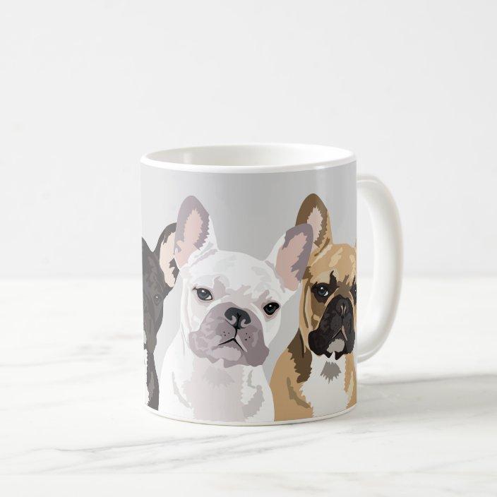 French Bulldogs Cute Frenchie Bulldog Coffee Mug Zazzle Com