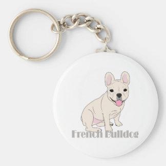 French Bulldogs: Cute Little French Bulldog Lover Keychain