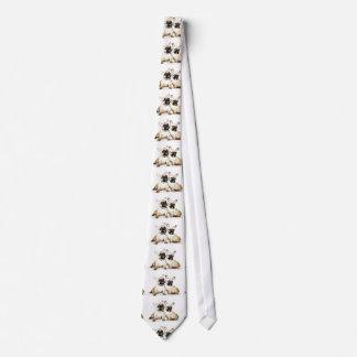 French Bulldogs Neck Tie