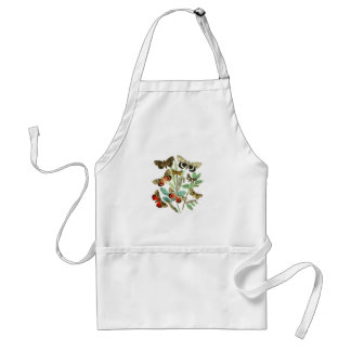 French Butterflies Adult Apron