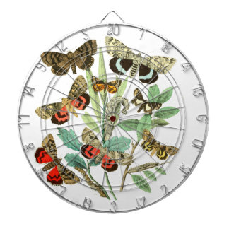 French Butterflies Dart Board