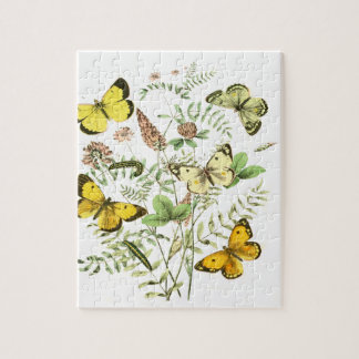 French Butterflies Jigsaw Puzzle