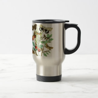 French Butterflies Travel Mug