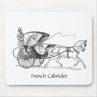 French Cabriolet, Mousepad