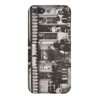 French cafe bar street scene iPhone SE/5/5s cover