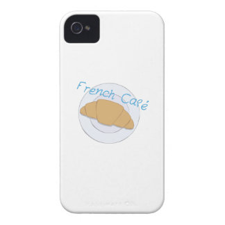 French Cafe iPhone 4 Case-Mate Case