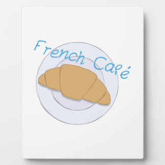 French Cafe Photo Plaques