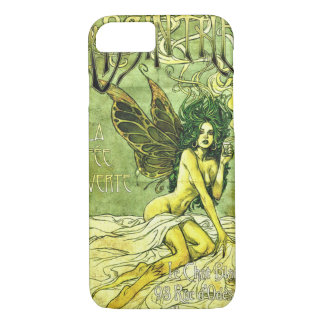 French Cafe Poster c1885 iPhone 7 Case