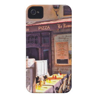 French cafe scene iPhone 4 case