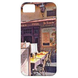 French cafe scene iPhone SE/5/5s case