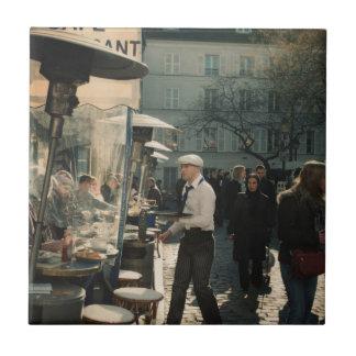 french cafe waiter tile
