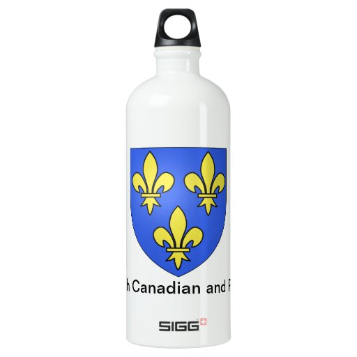 French Canadian and Proud SIGG Traveler 1.0L Water Bottle