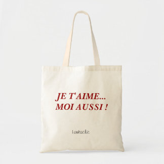 French Canvas Tote Bag
