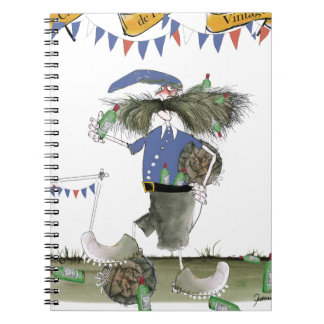 french capitaine footballeur notebook