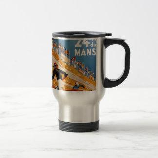 french car race vintage - 24h du Mans Travel Mug