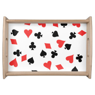 French Card Serving Tray
