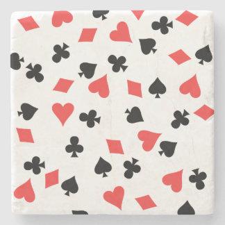 French Card Stone Coaster