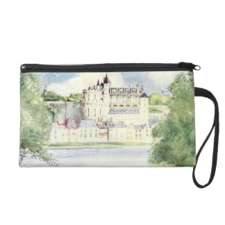 French Castle Wristlet Clutches