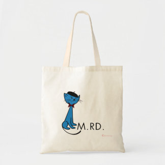 French Cat Says M.rd. Canvas Bag