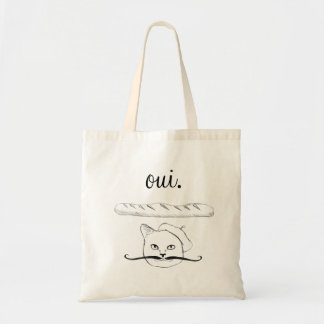 French Cat Tote