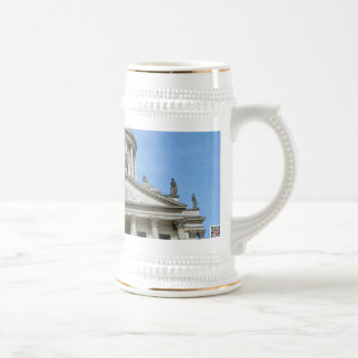 French Cathedral in Berlin Beer Stein