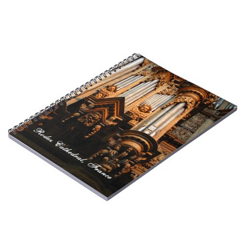 French cathedral notebook