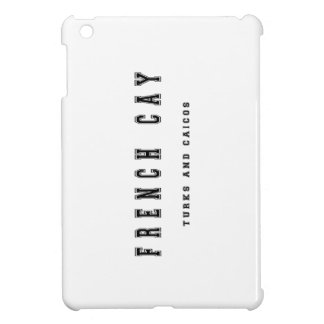 French Cay Turks and Caicos Cover For The iPad Mini