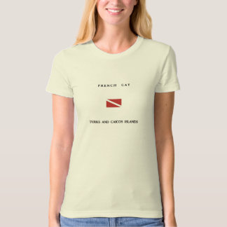 French Cay Turks and Caicos Islands Scuba Dive Shirt