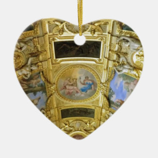 french ceiling painting ceramic ornament