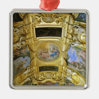 french ceiling painting metal ornament
