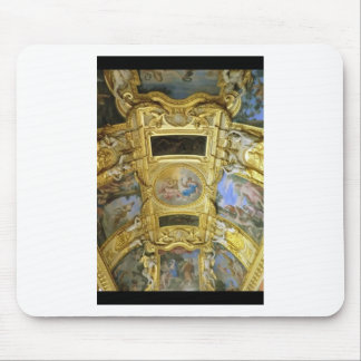 french ceiling painting mouse pad