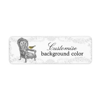 French Chair CLASSIC Return Address Labels