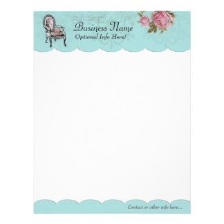 French Chair Letter Head Letterhead