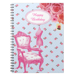 French Chair Notebook