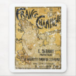 French Champagne-1899 - distressed Mousepad