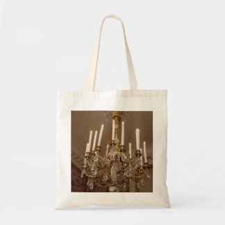 French Chandelier, Rococo In Paris Tote Bag