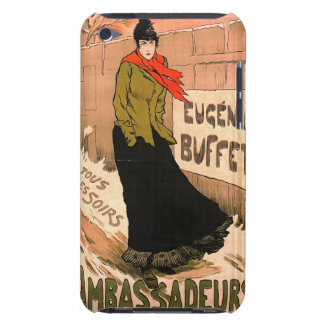 French Chanteuse 1893 Barely There iPod Case