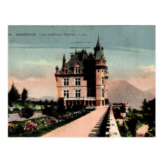 French Chateau Postcard