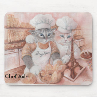 French Chef Axle Mousepad