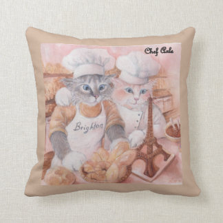 French Chef Axle throw pillow