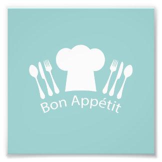 French Chef Bon Appetit Restaurant or Kitchen Photo Print