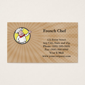French Chef Business Card